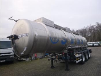 Magyar Chemical tank inox 21 m3 / 1 comp - tsistern poolhaagis