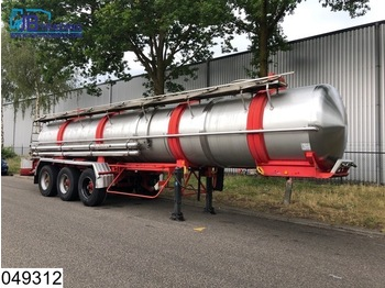 Magyar Chemie RVS tank, 20500 Liter, 4 Bar - tsistern poolhaagis