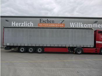 Schmitz Cargobull S01 Pritsche/Plane, Tautliner, Safety Roof  - külgkardinaga poolhaagis