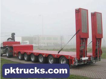 TSR 6-axle extendable low-bed - madal platvormpoolhaagis