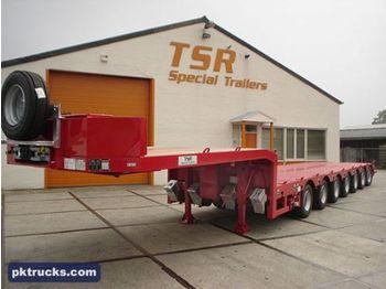 TSR 7-axle extendable - madal platvormpoolhaagis