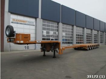 TSR Nieuwe 7 assige semi dieplader - platvormpoolhaagis