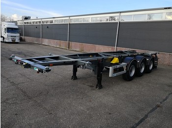 Poolhaagis veoauto Van Hool A3C002 20FT 30FT TANK SWAP ADR NEW / UNUSED