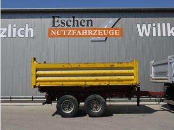 Schütte Tandem, 11m³, Blatt, BPW  - pótkocsi billenőplatós