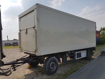 Pótkocsi hűtős ROHR RAK18 Durchlade Anhänger Koffer mit Kühlung und LBW
