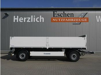 Krone AZP 18 Baustoffanhänger 6900mm, Sofort verfügbar  - pótkocsi síkplatós