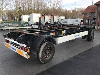 Прицеп-контейнеровоз/ сменный кузов Krone - 2 ACHS ANHÄNGER Jumbo Lafette