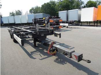 Прицеп-контейнеровоз/ сменный кузов Krone - BDF System Jumbo/Maxi Ausführung, Zugrohr teleskopierbar