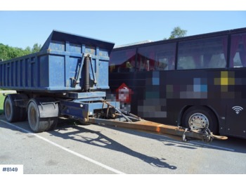 Triolift 2 axle tipper trailer - самосвальный прицеп