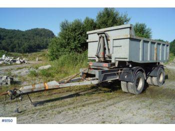 Triolift 2 axle tipper trailerwith spreading limb - самосвальный прицеп