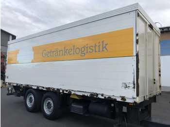 ZFKO18 2 Achsen Getränkekoffer+LBW Schwenkwand  - для перевезення напоїв причіп
