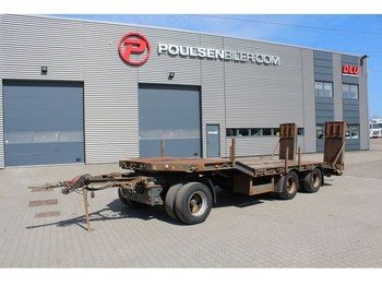 KEL-BERG 24-tons machinery trailer - низькорамна платформа причіп