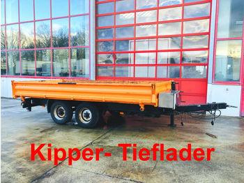 Blomenröhr  Tandemkipper- Tieflader  - savivartis priekaba