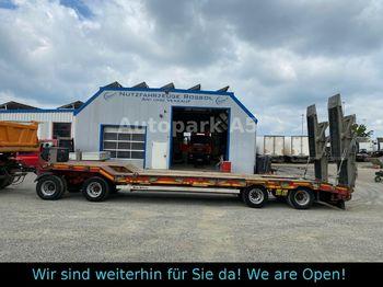 Müller-Mitteltal T4 Profi 40,0 Tieflader 40 Tonnen 4-Achser  - žemo profilio platforma priekaba