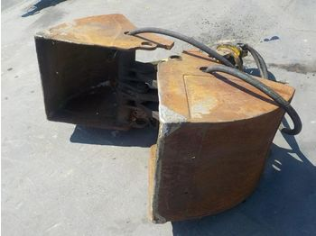 24'' Hydraulic Rotating Clamshell Bucket - iskopna žlica
