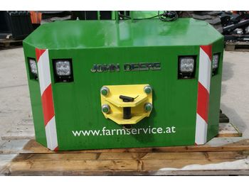 Protuuteg John Deere Frontgewicht 600 kg-Metall-LED