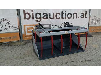 Žlica BIG Krokodilschaufel 150 cm mit Bobcat Aufnahme