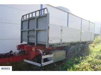 Dropside prikolica (sa spustivim stranicama) Narko container trailer w / box