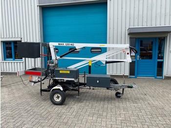 Prikolica Niftylift 90 AC, Aanhanger Hoogwerker, 9 meter, 690 kg.