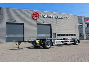 Hangler 2-axle 20.000kg - prikolica za prevoz kontejnera/ prikolica sa promenjivim sandukom