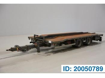 Samro Container plateau - transporter kontejnera/ prikolica s izmjenjivim sanducima