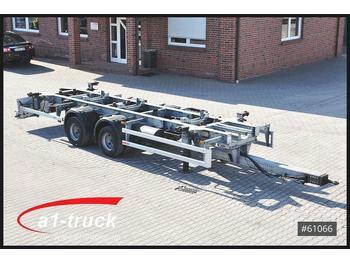 Wecon AWZ 218 , verzinkt, Multiwechsler 1000mm - 1450m  - transporter kontejnera/ prikolica s izmjenjivim sanducima
