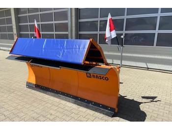 Unimog Schneepflug - Schneeschild Rasco SPTT 3.0  - radlice