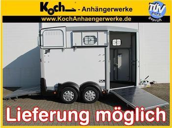 Ifor Williams HB511 mit Frontausstieg - přívěs na přepravu zvířat