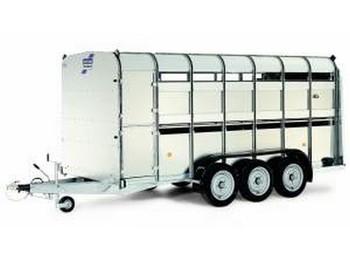 Ifor Williams TA510T - přívěs na přepravu zvířat
