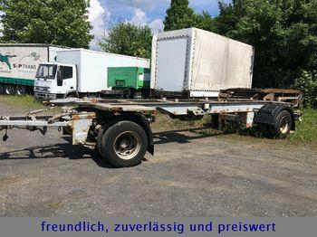 Príves preprava kontajnerov/ výmenná nadstavba GOEBEL 860 * TANDEM * SAF *: obrázok 1