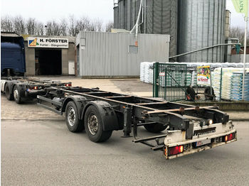 Príves preprava kontajnerov/ výmenná nadstavba Kögel Mildner ZWF18 Tandem BDF
