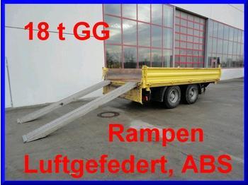 Obermaier 18 t Tandem- 3 Seiten- Kipper- Tieflader - sklápěcí přívěs