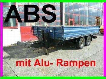 Obermaier Tandem  Kipper mit Rampen - sklápěcí přívěs