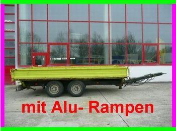 Obermaier Tandemkipper mit Rampen - sklápěcí přívěs
