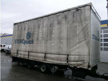 Przyczepa kontenerowiec/ system wymienny Dinkel BDF Volumen Jumbo Tandem TÜV 5/18 7.190 kg NL!
