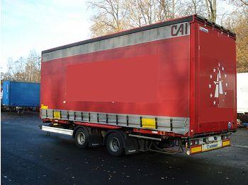 Przyczepa kontenerowiec/ system wymienny Krone ZZW 18 Jumbo Volumen 7,82 Code EN 12642 XL: zdjęcie 1