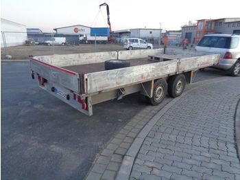 Przyczepa samochodowa Sandhaus Hochlader ca. 5 M Ladefläche