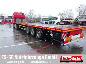 ES-GE 3-Achs-Sattelanhänger, Rungen  - platforminė puspriekabė