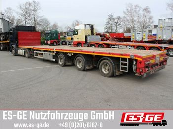 Faymonville 3-Achs-Megatrailer - tele - hydr. gelenkt  - platforminė puspriekabė
