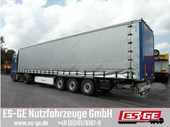 Krone 3-Achs-Auflieger mit Schiebeverdeck  - tentinis puspriekabė