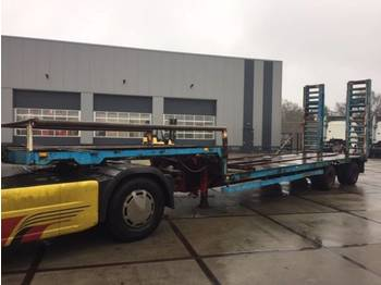 Schmitz Cargobull schmitz - žemo profilio platforma puspriekabė