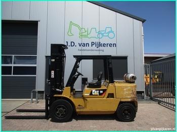 Oldalvillás targoncá Caterpillar GP50K2 5t LPG triplex 5.4m + 4x hydrauliek 2009!!