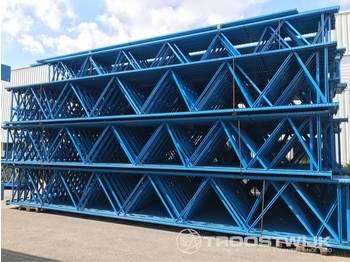 Stow 8700 x 1100 (stijl 100 mm) - raktári berendezés