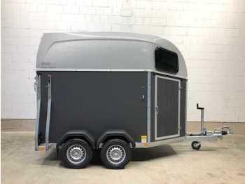 BOECKMANN Duo Esprit silver + black Pferdeanhänger - reboque transporte de gado