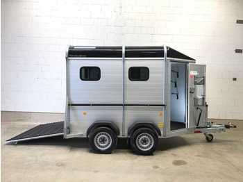 Reboque transporte de gado BOECKMANN Traveller K 3 Pferdeanhänger
