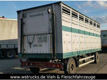 Reboque transporte de gado Westrick Viehanhänger 1Stock, trommelbremse: foto 1