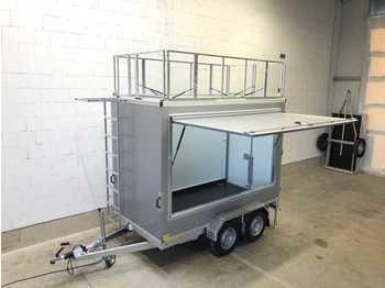 Roulote bar TK B 20.30 SP Dachwerbetafeln Kofferanhänger
