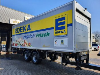 2-Achs Tandem Anhänger + LBW 2500 KG - caja cerrada remolque