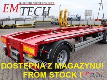 EMTECH Z MAGAZYNU! STOCK AVAILABLE! 2.PKR-O19,5'' (DIN) - portacontenedore/ intercambiable remolque