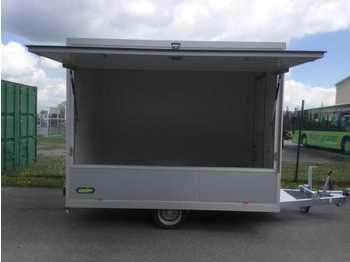Remolque venta ambulante UNSINN VM 1830-13-2040 1-Achser Verkaufsanhänger